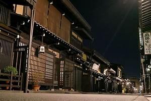 Architecture Japonaise Traditionnelle : takayama night 2 japon japon ~ Melissatoandfro.com Idées de Décoration