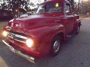 Sell Used 1953 Ford F100 - 50 Years Anniversary Pick Up 1  2 Ton Truck - 2 Owner Truck