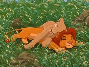 Simba-Nala postcard, Simba-Nala wallpaper, Simba-Nala picture