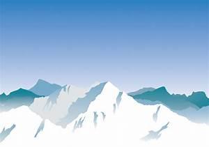 Vector mountains Free Vector / 4Vector