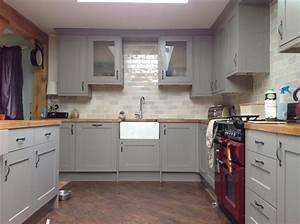repeindre sa cuisine en blanc cuisine rustique apres With repeindre sa cuisine en blanc