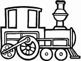 Train Coloring Steam Engine Draw Locomotive Pages Clipart Printable Drawings Print Trains Tren Dibujo Clip Cliparts Vapor Little sketch template