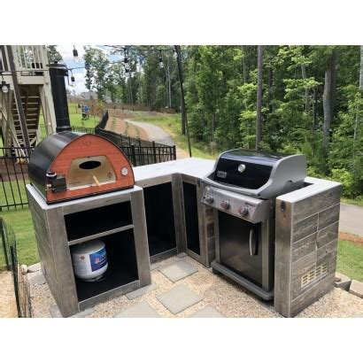 portable gas fired pizza oven pizza party