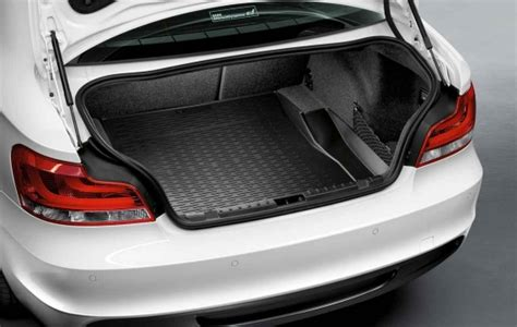 fog luggage warranty bmw genuine fitted protective car boot cover liner mat e82