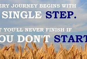 Every Journey Begins With a Single Step - Paperblog