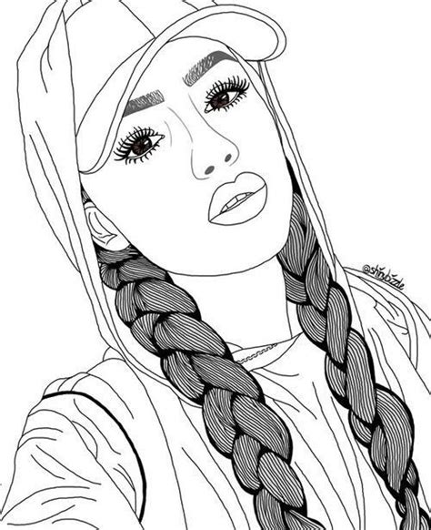 ideas  realistic girl people coloring pages  coloring pages inspir