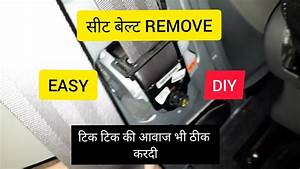 How To Remove Front Seat Belt In Datsun Redigo And Kwid