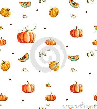Watercolors Pumpkins