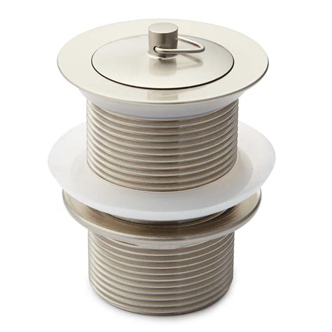 bathtub overflow drain stopper 1 1 2 quot brass drain with without overflow bathroom