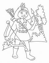 Coloring Archery Pages Printable Range Printables sketch template