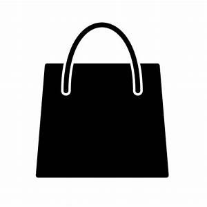 Sac À Main Transparent : cone de compras sacola livre de e commerce glyph ~ Melissatoandfro.com Idées de Décoration