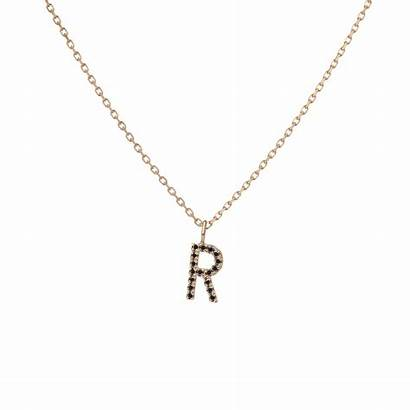 Letter Pendant Charm Diamond Diamonds