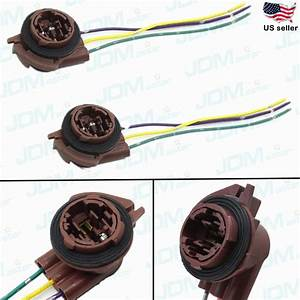 Jdm Astar 3157 4157na Bulb Socket Turn Signal Light
