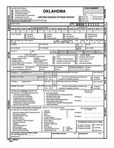 incident report template word oklahoma uniform crime report fill online printable