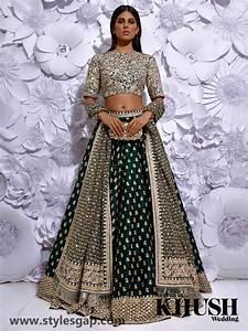 Celebrities Lehenga Choli Designs Sabyasachi Mukherjee Latest Wedding Dresses 2018 2019