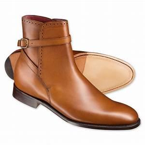Handmade mens fashion jodhpur ankle boots,Men Tan ankle
