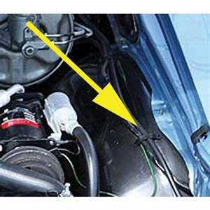 Chevelle Wiring Harness Retainer Strap  Left Inner Fender