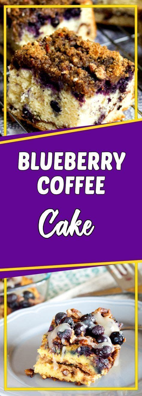 Very creative recipes in it, i can't wait to try more. Blueberry Coffee Cake Via #yummymommiesnet #dessertrecipes dessert recipes easy #easyrecipes ...
