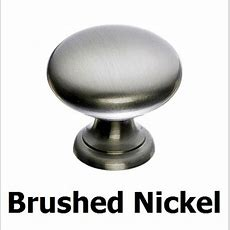 Kitchen Knobs Pulls Brushed Nickel Drawer Door Bar