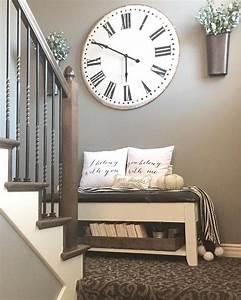Clocks: large wall clock decor 60 Inch Wall Clock, 36 Inch