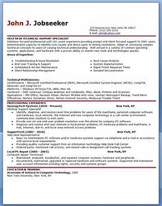 It help desk support resume sample resume downloads for Help desk resume sample