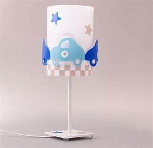 Lampe Chambre Garçon : lampe chambre enfant avec voitures fabrique casse noisette ~ Teatrodelosmanantiales.com Idées de Décoration