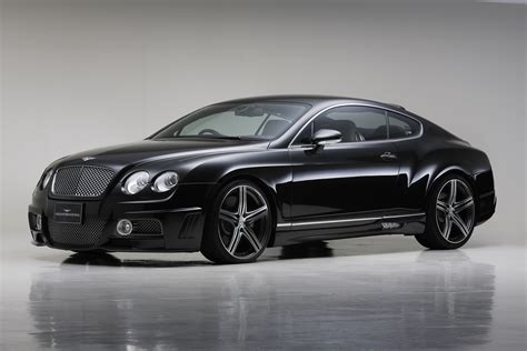 bentley sports wald bentley continental gt sports line black bison