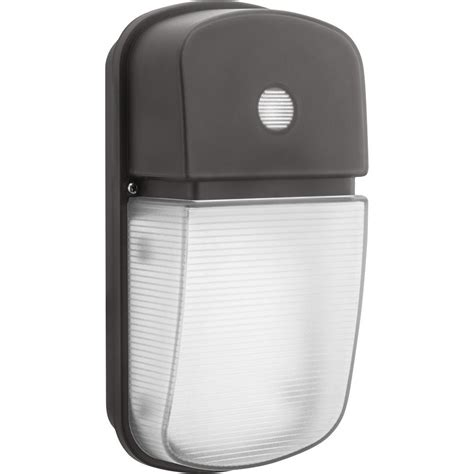 lithonia lighting bronze outdoor integrated led wall pack