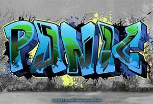 Graffiti Font Style – Bulky Graffiti Text – Panic ...