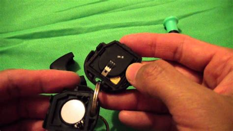 How To Change Battery For A Nissan Car Key Vid0005