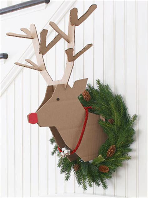 cardboard deer head ideas guide patterns