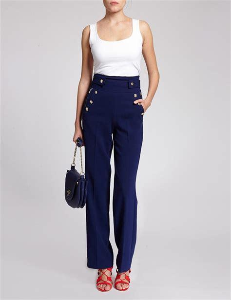 pantalon fluide taille haute pantalon fluide taille haute inspiration mode pantalon fluide taille haute et