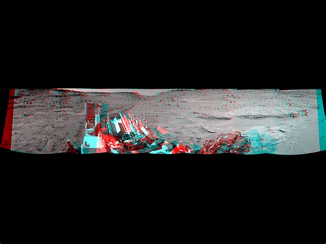 Panoramic View From West of 'Dingo Gap' (Stereo) | NASA