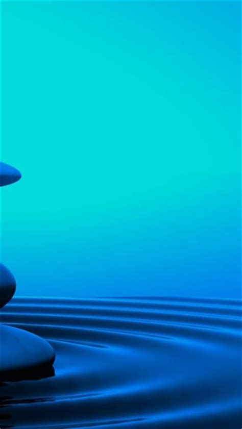 serenity zen water stones wallpaper allwallpaperin