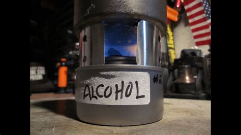refilling chafing fuel canister  alcohol boil test