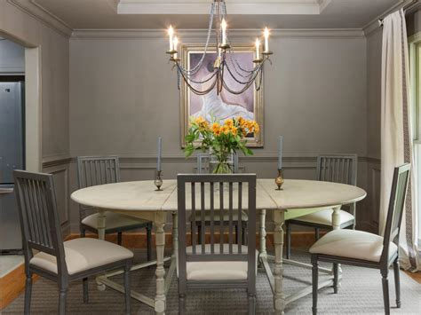 Living Room Dining Room Gray by Traditional Gray Dining Room With Dining Table Hgtv