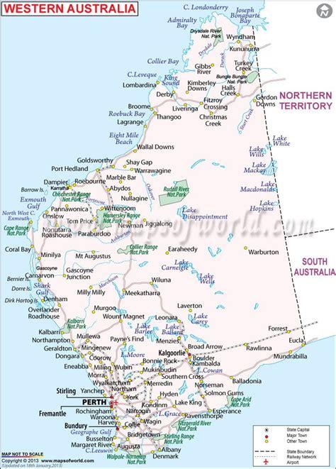 western australia mapyou       beach