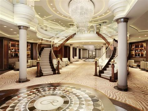 luxury cruise suite  larger  american homes