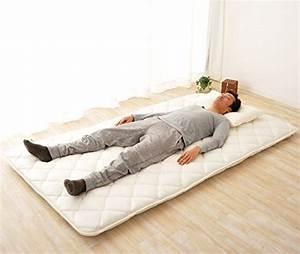 Best futon mattress review traditional japanese mattresses for Japanese mattress floor