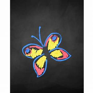 Colorful Butterfly Wings Printed Backdrop | Backdrop Express