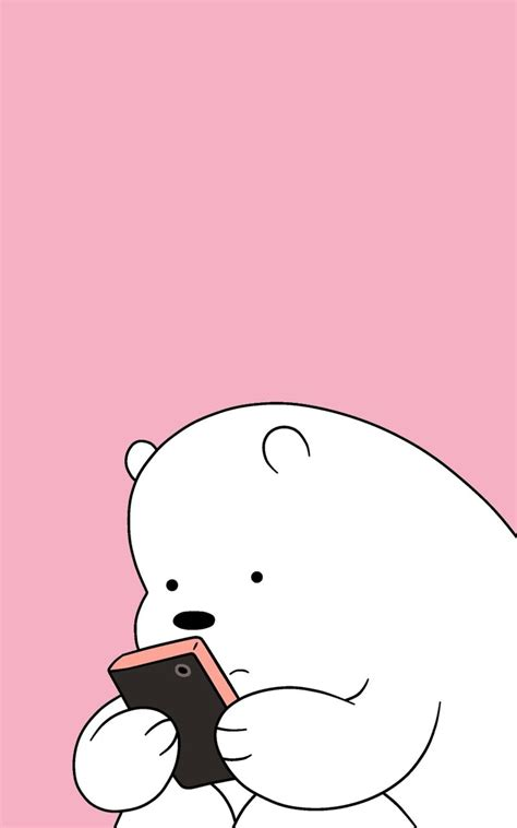 latest  bare bears iphone wallpaper full hd p