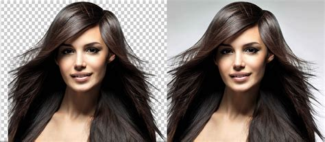 remove background how to remove hair photo background with refine edge adobe