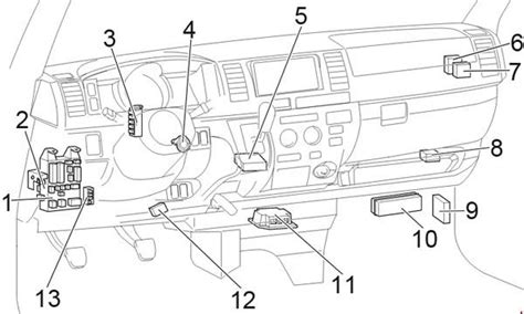 Toyota Hiace Fuse Box Diagram Auto Genius