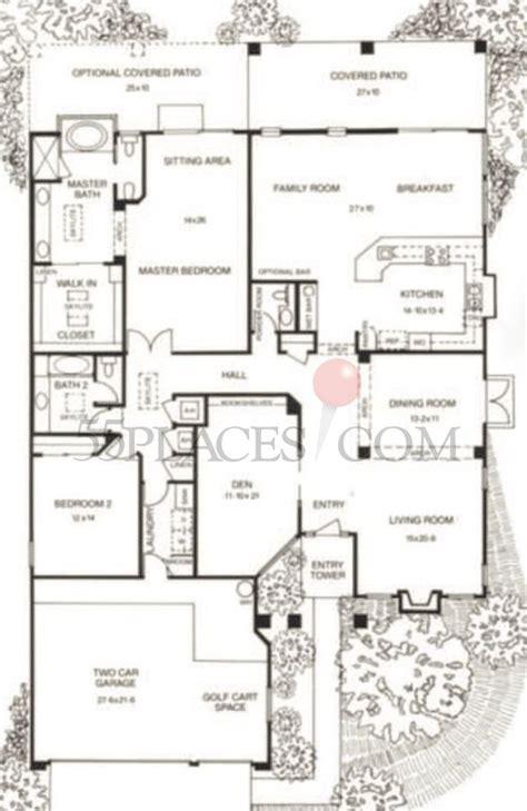 borgata floorplan  sq ft saddlebrooke placescom