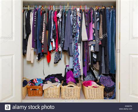 Wardrobe Of Clothes by Wardrobe Closet With S Clothing Stock Photo