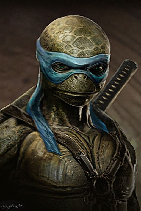 teenage mutant ninja turtles concept designs  jerad