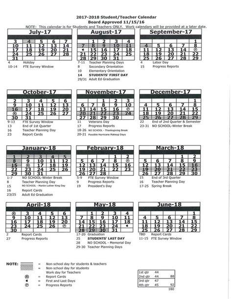 calendars leaps academy