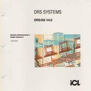 Icl Drs  Nx V4 0 Administrators Guide Vol  2
