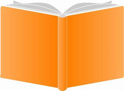 Orange Covers Clip Openbook Round Clipart Clker