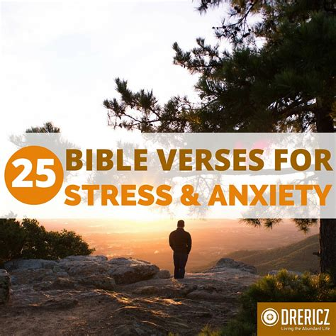 25 Bible Verses About Stress, Worry And Anxiety